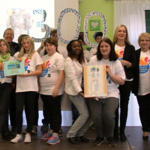 Anne-Frank-Schule wird 300. Fairtrade-Schule in Deutschland