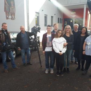 Der Saarländische Rundfunkt zu Gast in der Anne-Frank-Schule
