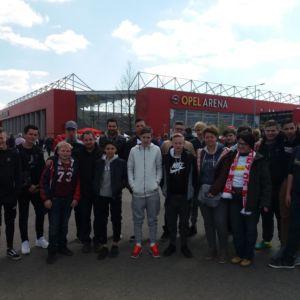 Ausflug zum Bundesligaspiel Mainz gegen Gladbach