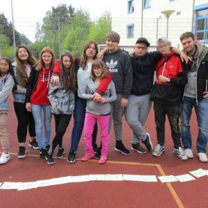 Klassenfahrt nach Homburg