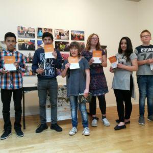 Florence Schönberger gewinnt Vorlesewettbewerb auf Landesebene