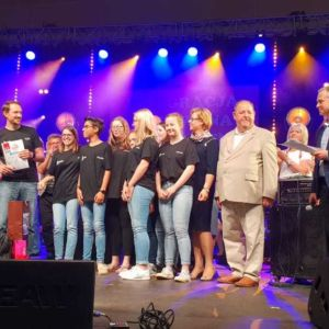 1. Platz beim integrativen Musikfestival in Bochnia