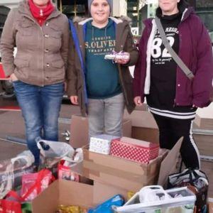 Spenden an den Kältebus Saarbrücken