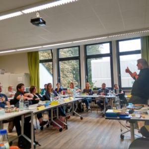 Günther Renk zu Gast in der Anne-Frank-Schule
