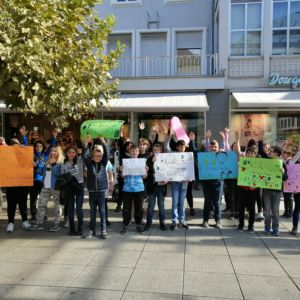 Trommeln für die Rechte der Kinder