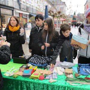 Unser Stand am Weihnachtsmarkt